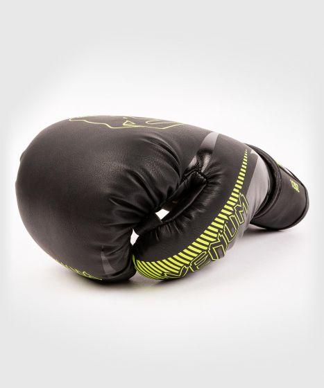 Guantes de Boxeo Venum Impact  - Negro/Amarillo Fluo
