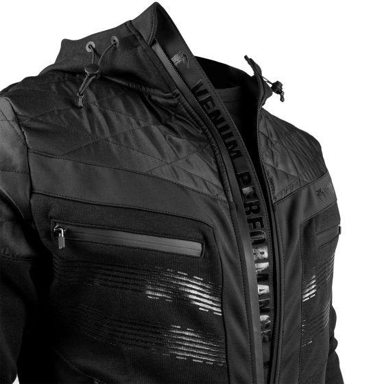 Venum Laser 2.0 Hoodie - Black/Black