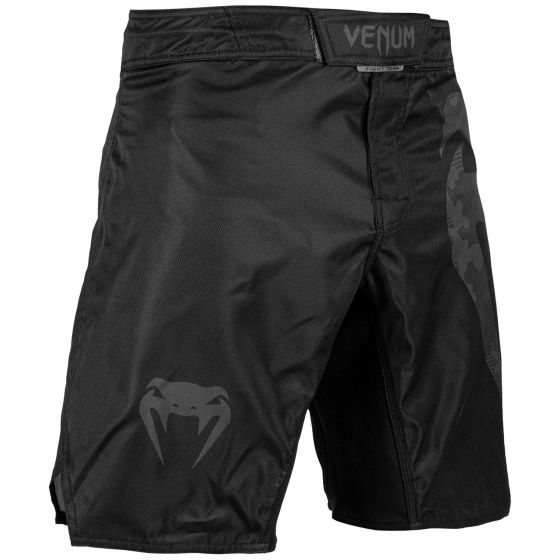 Fightshort Venum Light 3.0 - Noir/Dark camo