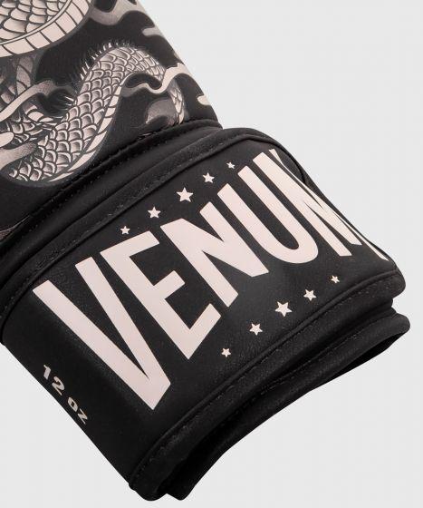 Venum Dragon's Flight Boxing Gloves - Black/Sand