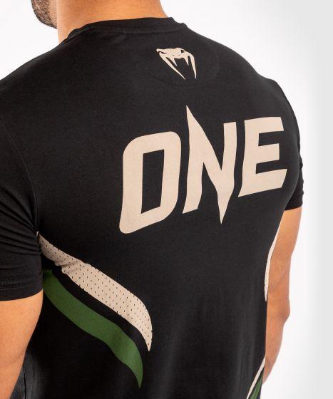 Maglietta ONE FC Impact - Nero/Cachi
