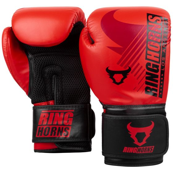 Boxhandschuhe Ringhorns Charger MX - Rot/Schwarz
