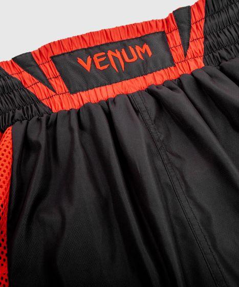 Pantaloncini da boxe Venum Elite - Neri/Rossi