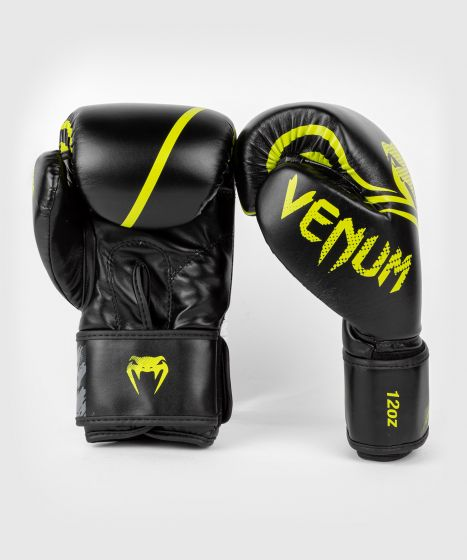 Venum Contender 1.2 Boxing Gloves - Black/Yellow