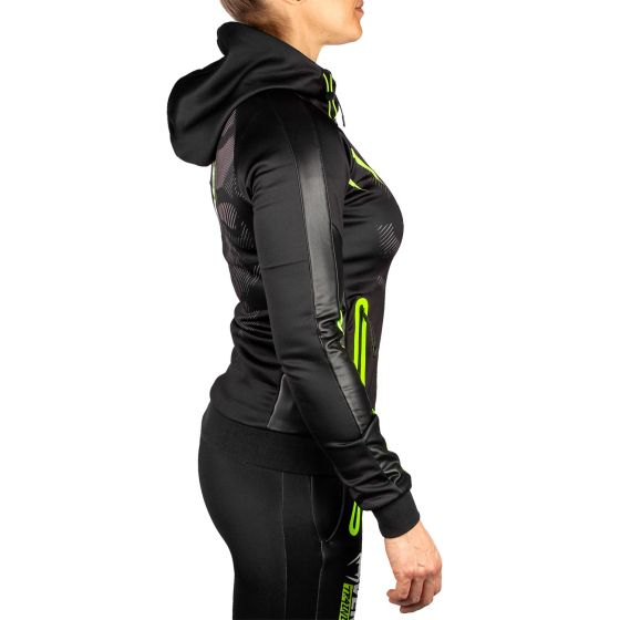 Venum Training Camp 2.0 Women Hoodie - Black/Neo Yellow - Exclusive