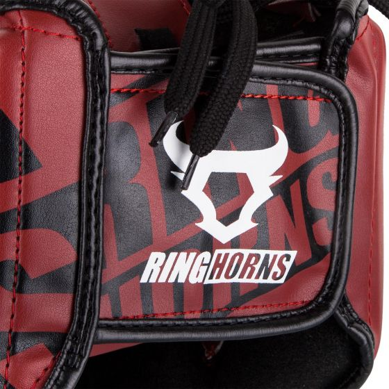 Ringhorns Nitro Headgear - rood