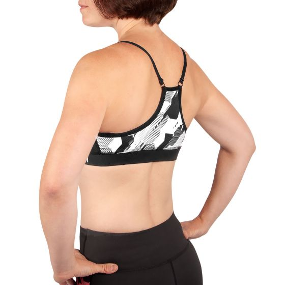 Venum Tecmo Sport Bra - For Women - Black/White