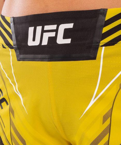 UFC Venum Authentic Fight Night Damesshort - Short Fit - Geel