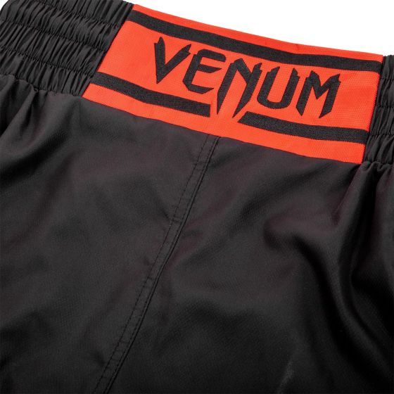 Short de Boxe Venum Elite - Noir/Rouge