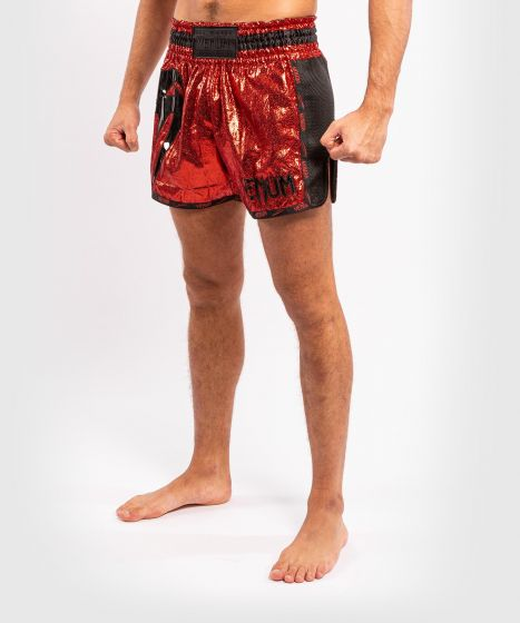 Venum Giant Foil Muay Thai Shorts - Red/Black