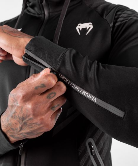 Sweatshirt à Capuche Homme UFC Venum Authentic Fight Night - Noir