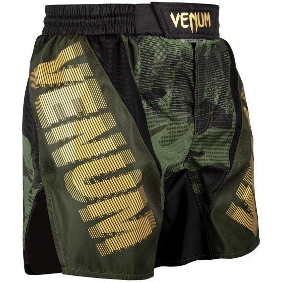 Fightshort court Venum Tactical - Forest Camo/Noir