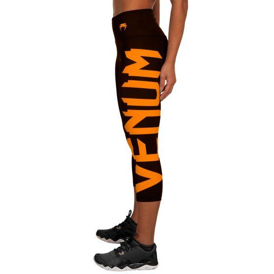 Venum Giant Geknipte Legging - Zwart/Oranje