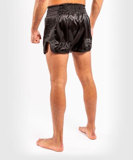 ONE FC Impact Muay Thai Shorts - Schwarz/Schwarz