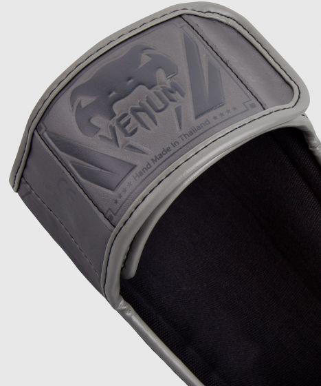 Venum Elite scheenbeschermers - Grijs/Grijs