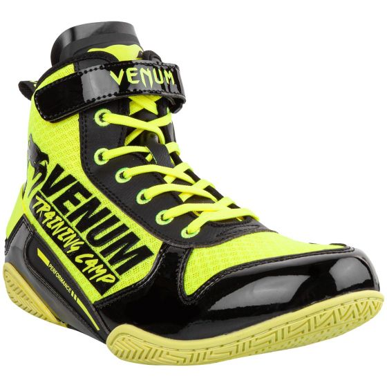 Venum Giant Low VTC 2 Edition Boxing Shoes - Neo Yellow/Black