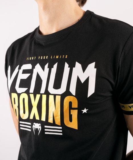 T-Shirt Venum Boxing Classic 20 Nero / Oro