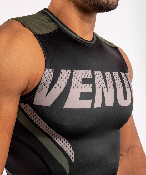T-shirt de compression Venum ONE FC Impact - sans manches - Noir/Kaki
