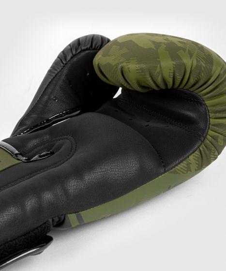 Venum Trooper boxing gloves - Forest camo/Black