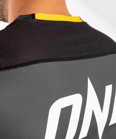 Maglietta ONE FC Impact Dry-Tech - Grigio/Giallo