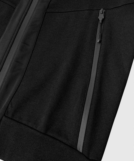 Venum Laser 2.0 Hoodie - Heidegrijs - Zwart/Zwart