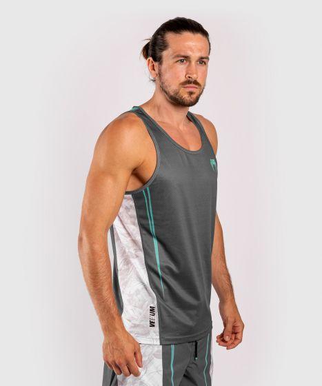 Camiseta sin mangas Venum Aero 2.0 - Gris/Cian