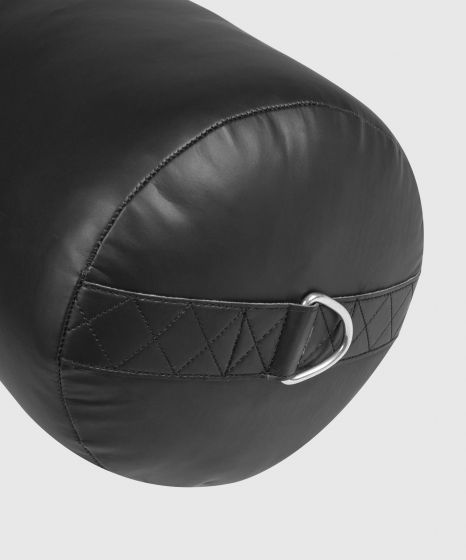 Venum Origins Punching Bag - Black/Black (ceiling mount included)