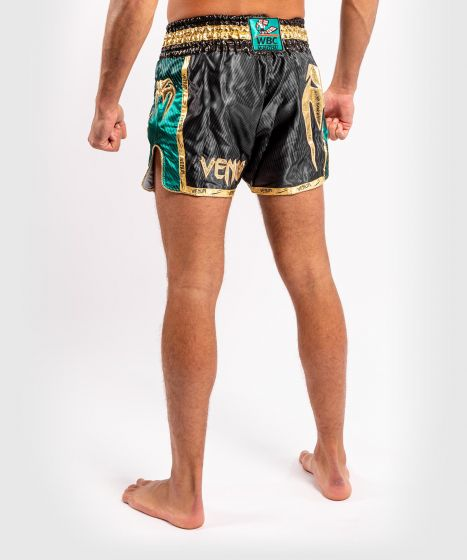 Short de boxe thaï Venum WBC Muay Thai  - Noir/Vert