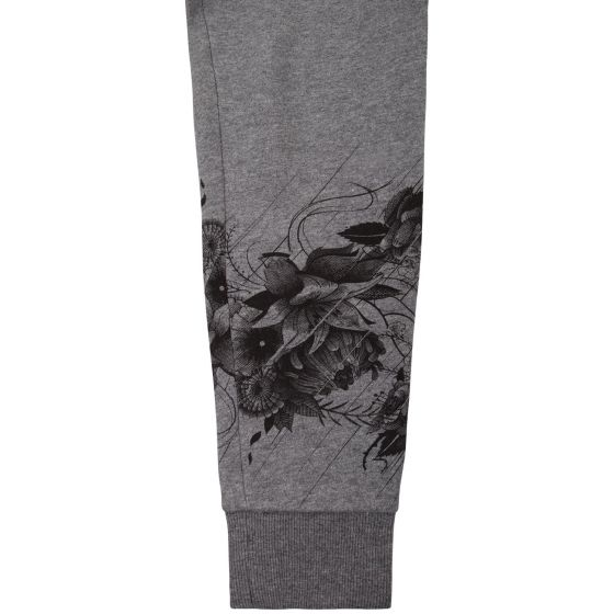 Venum Floral Joggers - Heather Grey - For Women