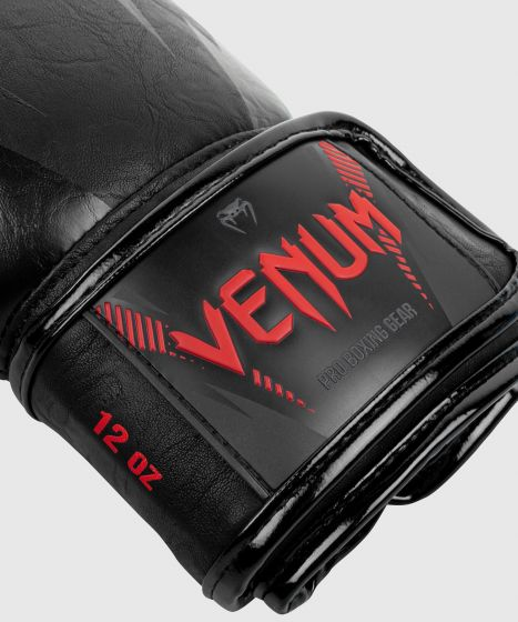 Venum Impact Boxing Gloves - Black/Red