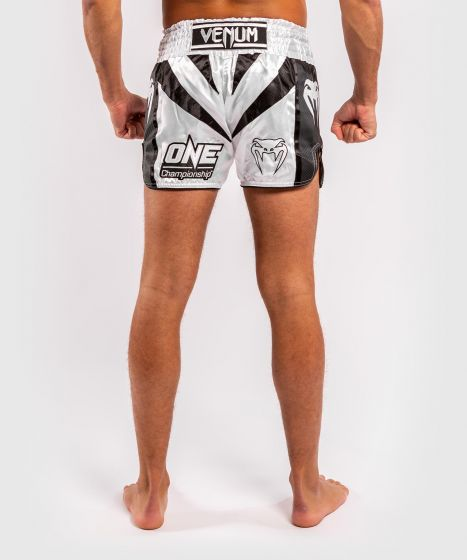 Pantaloncini Muay Thai Venum x ONE FC - Bianco/Nero