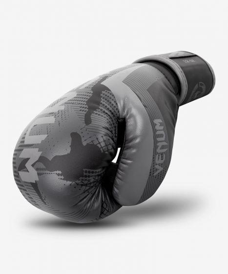 Venum Elite bokshandschoenen - Zwart/Donkercamouflage