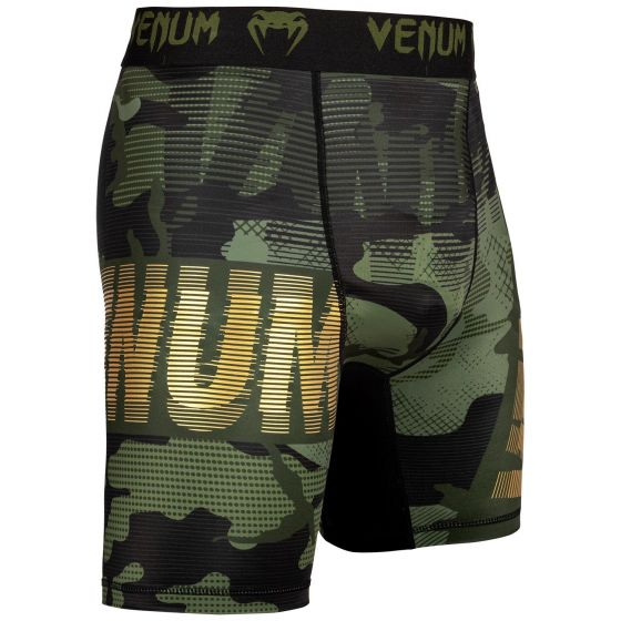Pantalones de cortos de compresión Venum Tactical - Camo Bosque/Negro