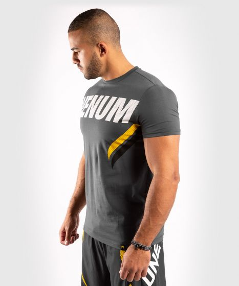 Venum ONE FC Impact T-shirt - Grey/Yellow