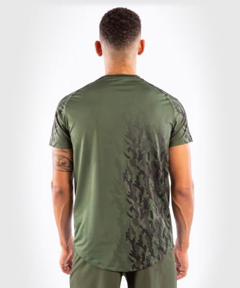 T-shirt Dry Tech Manches Courtes Homme UFC Venum Authentic Fight Week - Kaki