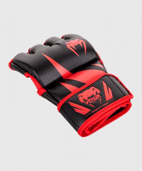 Venum Challenger MMA Handschuhe - Ohne Daumen - Schwarz/Rot