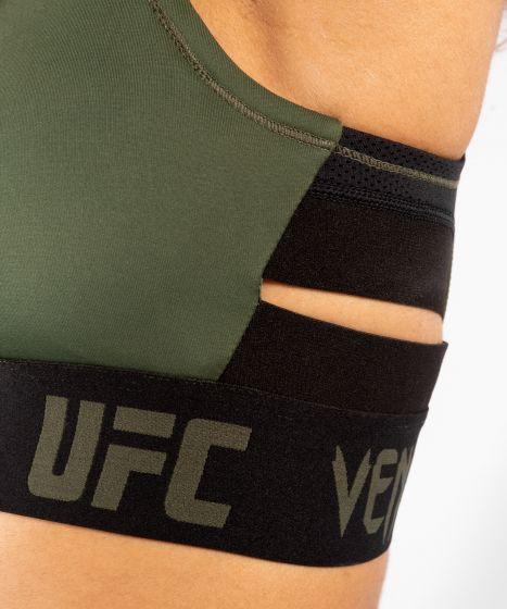 Brassière de Pesée Femme UFC Venum Authentic Fight Week - Kaki