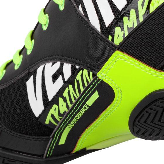 Venum Elite VTC 2 Edition Boksschoenen - Zwart/Neongeel