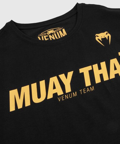 T-shirt Venum Muay Thai VT - Noir/Or