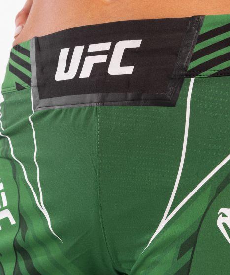 UFC Venum Authentic Fight Night Damesshort - Long Fit - Groen