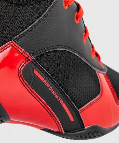 Elite Boxschuhe - Schwarz/Rot