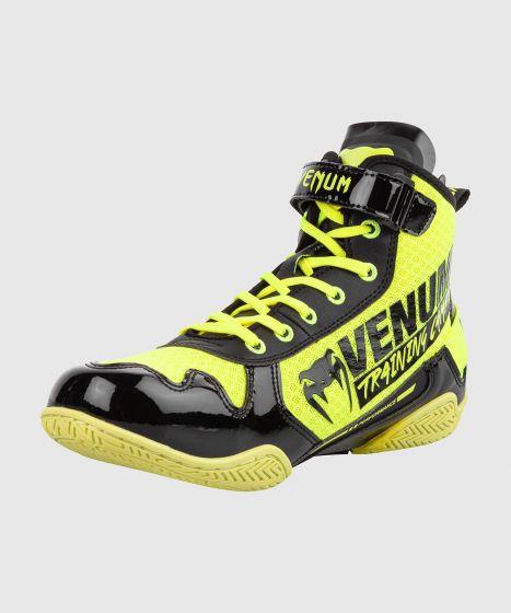 Chaussures de boxe Venum Giant Low VTC 2 Edition - Jaune fluo/Noir