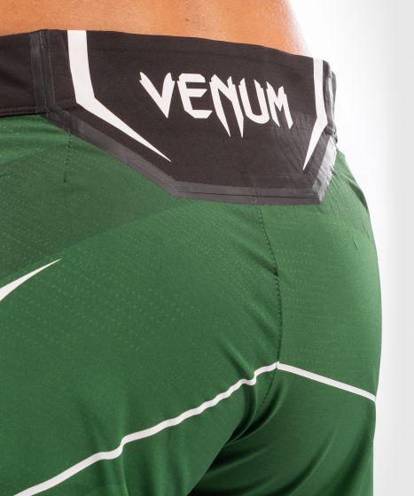 UFC Venum Authentic Fight Night Women's Shorts - Long Fit - Green