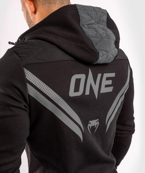 Sudadera con capucha ONE FC Impact - Negro/Negro
