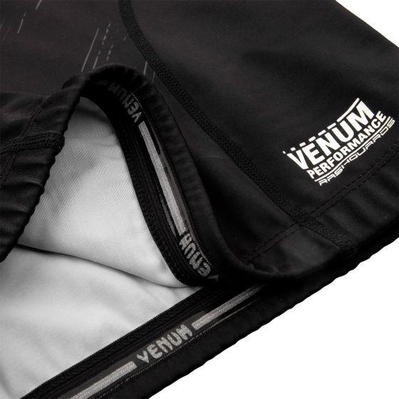 Rashguard Venum Training Camp 2.0 Manches courtes  - Noir/ Jaune Fluo