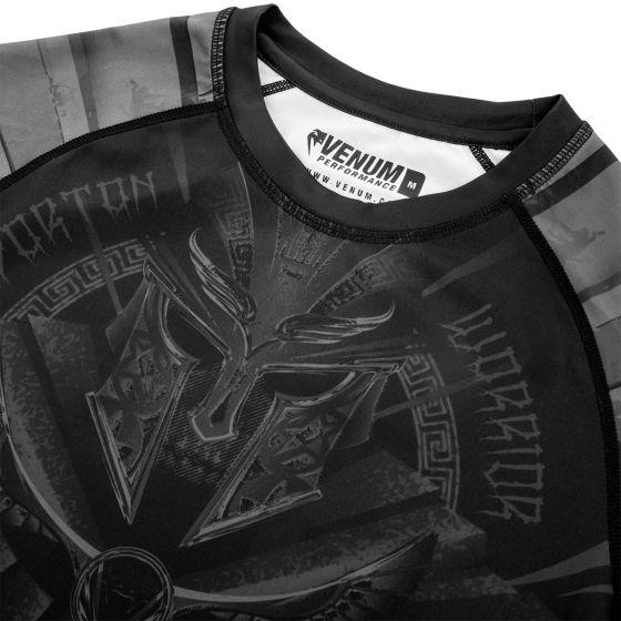 Venum Gladiator 3.0 Rashguard - korte mouwen - zwart/zwart