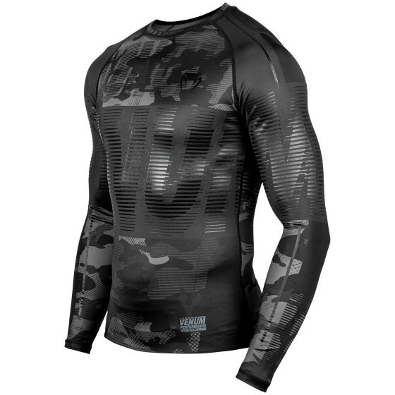 Venum Tactical Rashguard - Long Sleeves - Urban Camo/Black/Black