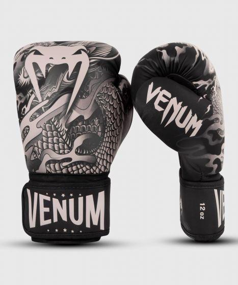 Guantes de boxeo Venum Dragon's Flight - Negro/Arena