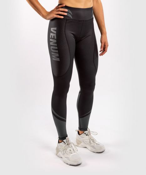 Venum ONE FC Impact Leggings - for women - Black/Black