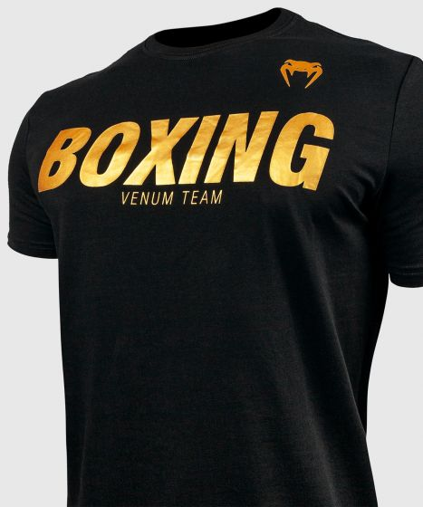 T-shirt Venum Boxing VT - Noir/Or